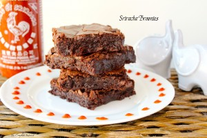 Sriracha Brownies ~ The Complete Savorist