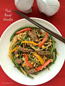 Thai Beef Noodles ~ The Complete Savorist