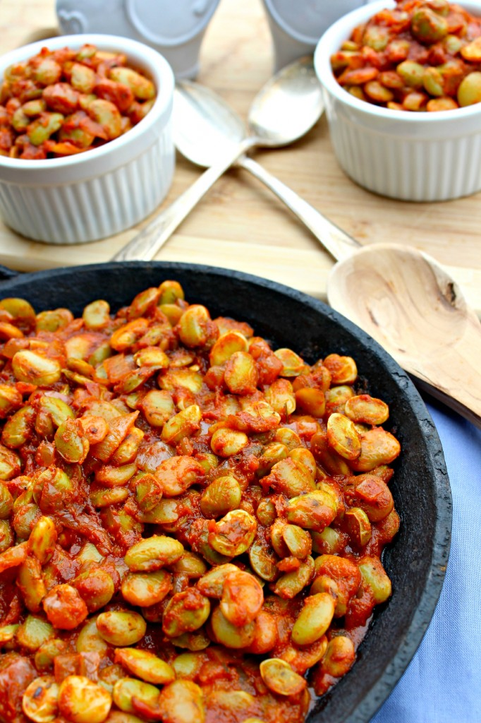 Smoky Spicy Lima Beans ~ The Complete Savorist